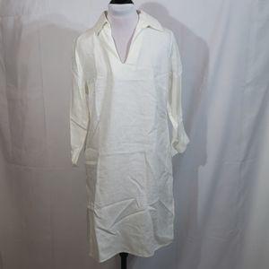 NWOT Willi Smith Ivory Linen Tunic Size Medium